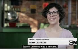 Rebecca Meme Images - steven universe creator rebecca sugar steven universe was a mistake