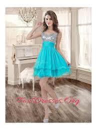 quince dama dresses boning aqua blue quinceanera dress and sequined dama dresses
