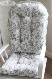 Rocker Cushions Nursery Exceptional Comfort Make Ideal Choice With Rocking Chair