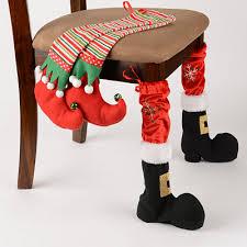 christmas chair covers christmas chair leg covers natal chair leg covers