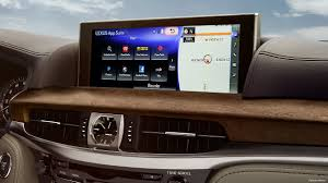 lexus is dvd player 2018 lexus lx luxury suv technology lexus com