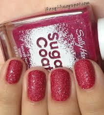 sally hansen sugar coat in 230 pink sprinkle over chanel in 589