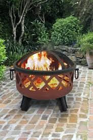 Outdoor Fireplace With Cooking Grill by Build Fire Pit Grill Sunnydaze Northland Outdoor Fire Pit With
