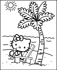 hello kitty easter coloring pages to print archives best