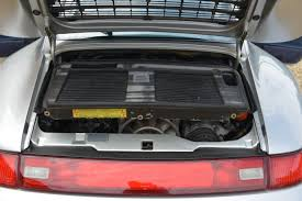 porsche trunk 1997 porsche 993 turbo trofeo cars