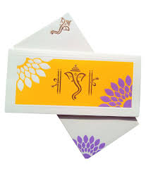 Wedding Cards In India Srm Cards Multicolor Wedding Card Pack Of 5 Buy Online At Best