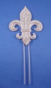 fleur de lis cake topper jewelry by rhonda wedding jewelry bridesmaid s jewelry cake