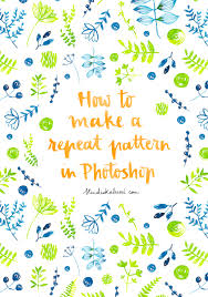 pattern from image photoshop tutorial 2 how to make a repeat pattern in photoshop made with