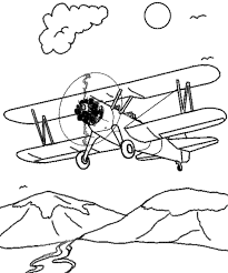 airplane coloring pages kids kids