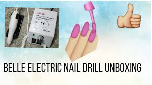 belle electric nail drill unboxing amazon cheap drill find