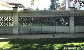 decorative concrete blocks for garden walls retaining wall