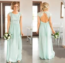 ice blue bridesmaid dresses lace top country wedding guest party