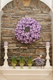 Easter Fireplace Mantel Decorations by Decorate Fireplace Mantel With Easter U0026 Spring Homemade Wreath