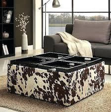 Animal Print Storage Ottoman Animal Coffee Table Animal Print Ottoman Coffee Table Animal Print