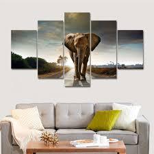Home Decor Elephants Online Get Cheap Elephant Oil Painting Aliexpress Com Alibaba Group