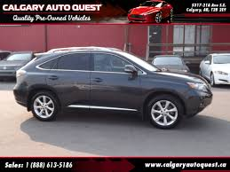 lexus dealership calgary ab used 2010 lexus rx 350 for sale calgary ab