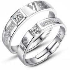 cheap promise rings for men online get cheap men and women matching silver rings aliexpress
