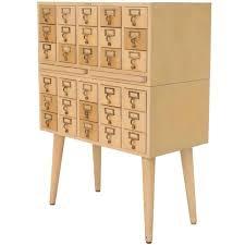 index card file cabinet multi drawer vintage all solid wood index card file cabinet for sale