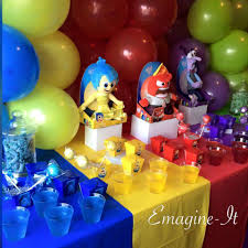 inside out party inside out birthday party ideas photo 3 of 8 catch my party
