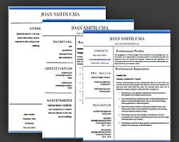 Microsoft Word Resume Sample Nurse Resume Template For Word U0026 Pages Medical Resume Nurse