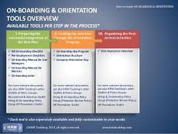 onboarding u0026 orientation how to on board new employees a manual fo u2026