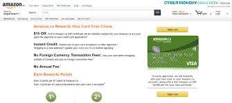 amazon canada rewards visa credit card review