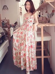 maxi dresses on sale sale straps floral printing sleeveless maxi dress