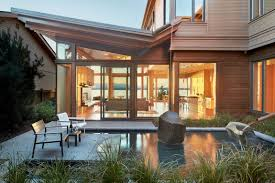 Waterfront Home Plans And Designs Environmentally Conscious Home Showcases Beautiful Craftsmanship