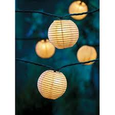 home 8 paper lantern string lights white 10 count target