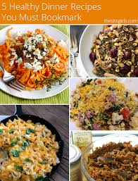 Dinner Ideas For Families 5 Healthy Dinner Recipes