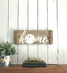 beach signs home decor wood
