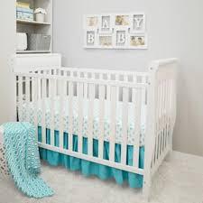 trend lab blue taffy chevron 3 piece crib bedding set free