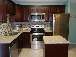 Kitchen Designs With Black Appliances by Kitchen Designs Kitchen Counter Decor Ideas Dark Cherry Cabinets