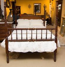 Jenny Lind Full Bed Antique Walnut Jenny Lind Style Four Poster Size Full Bed Ebth