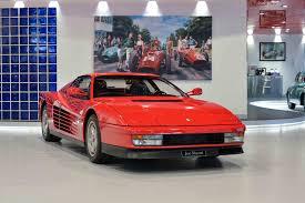 classic ferrari testarossa 1988 ferrari testarossa monodado classic driver market