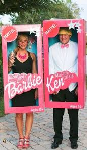 Party Box Halloween Costumes Directions Diy Barbie Boxes Kids Barbie