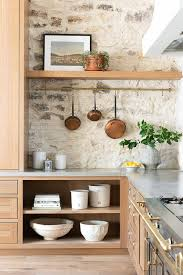 joanna gaines farmhouse kitchen with cabinets 14 stunning kitchens with wood cabinets postcards from the