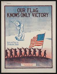 Our Flag Our Flag Knows Only Victory Library Of Congress