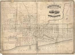 kenosha map kenosha wisconsin 1857 geographical society library