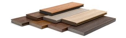 deck material competitor comparison trex