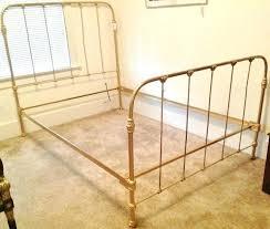 Metal Vintage Bed Frame Vintage Bed Frames Antique Metal Bed Frame Size Uforia