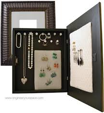 Making A Jewelry Box - how to make a diy jewelry organizer smart diy solutions for renters