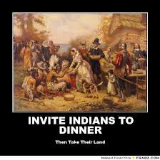 american thanksgiving memes invite indians to dinner then