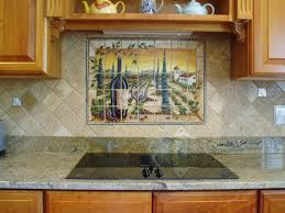 hand painted tiles kitchen backsplash narrow u2014 railing stairs and