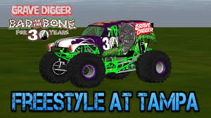 grave digger 30th anniversary monster truck rigs of rods grave digger 30th anniversary realistic freestyle