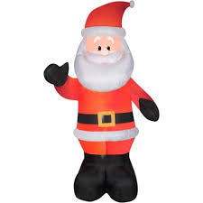 christmas inflatables outdoor 10 ft waving santa clause christmas