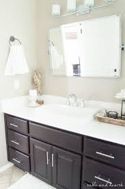 pottery barn bathrooms ideas the a shiny new master bathroom mirror table and hearth with