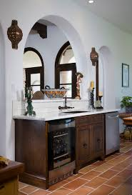 Mediterranean Tiles Kitchen - spanish style kitchen with decorative tile kitchen mediterranean