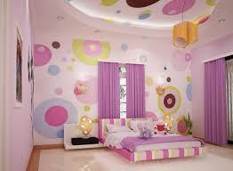 Wallpaper Design In Bedroom Polka Dots Wallpaper Bedroom Design 768 Decoration Ideas