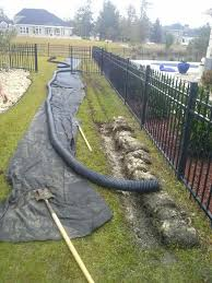 Drainage Ideas For Backyard by Home Design How Much French Drain Installation Cost With Pipe And